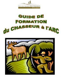 Guide formation chasse à l'arc