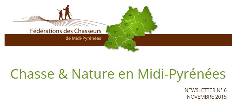 Chasse & Nature en Midi-Pyrénées - N° 7 - Janvier 2016